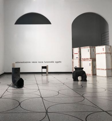 Studio La Cube. Trigo, perro, roca. Exhibition view at Camp Design Gallery, Milano 2018
