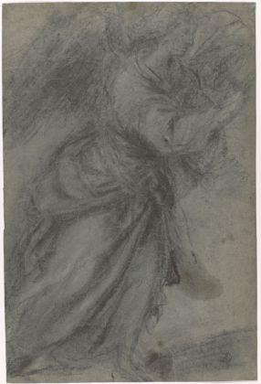 Tiziano Vecellio, Studio per Angelo annunciante, 1559 ca. Firenze, Galleria degli Uffizi, Gabinetto Disegni e Stampe degli Uffizi