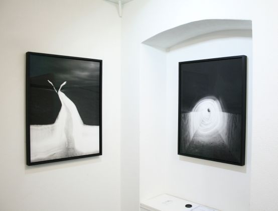 Ugo Ricciardi. Nightscapes Officium. Exhibition view at Burning Giraffe Art Gallery, Torino 2018