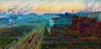 Umberto Boccioni, Crepuscolo, 1909. Collezione privata