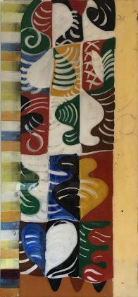 Un dipinto su perspex della fine degli anni '60 © Gio Ponti Archives