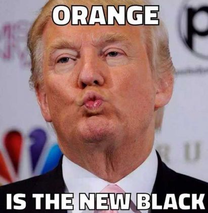 Un meme con protagonista Donald Trump