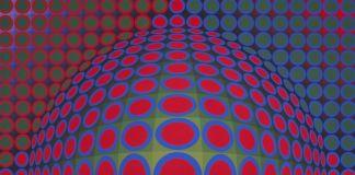 Victor Vasarely, Vega 200, 1968, Courtesy Galerie Templon, Paris Brussels © VG Bild Kunst Bonn 2018