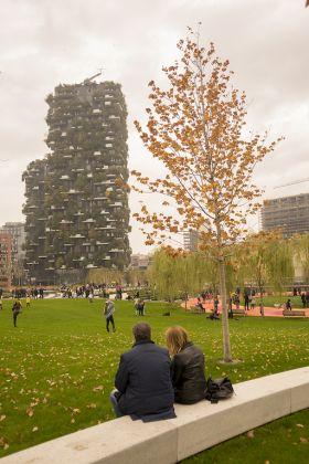 Biblioteca degli alberi a Milano, ph. Lucilla Loiotile