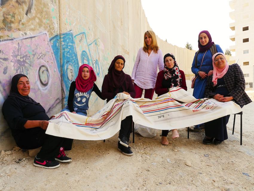 Daniela Papadia, Il Filo dell'Alleanza, donne palestinesi di El Azaria
