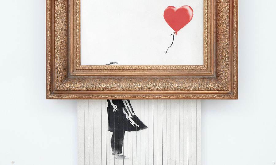 Banksy Girl with the Ballon