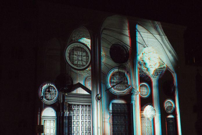 Piazza della Minerva, videomapping di Soldi Light Festival. Ph. Lucilla Ioiotile