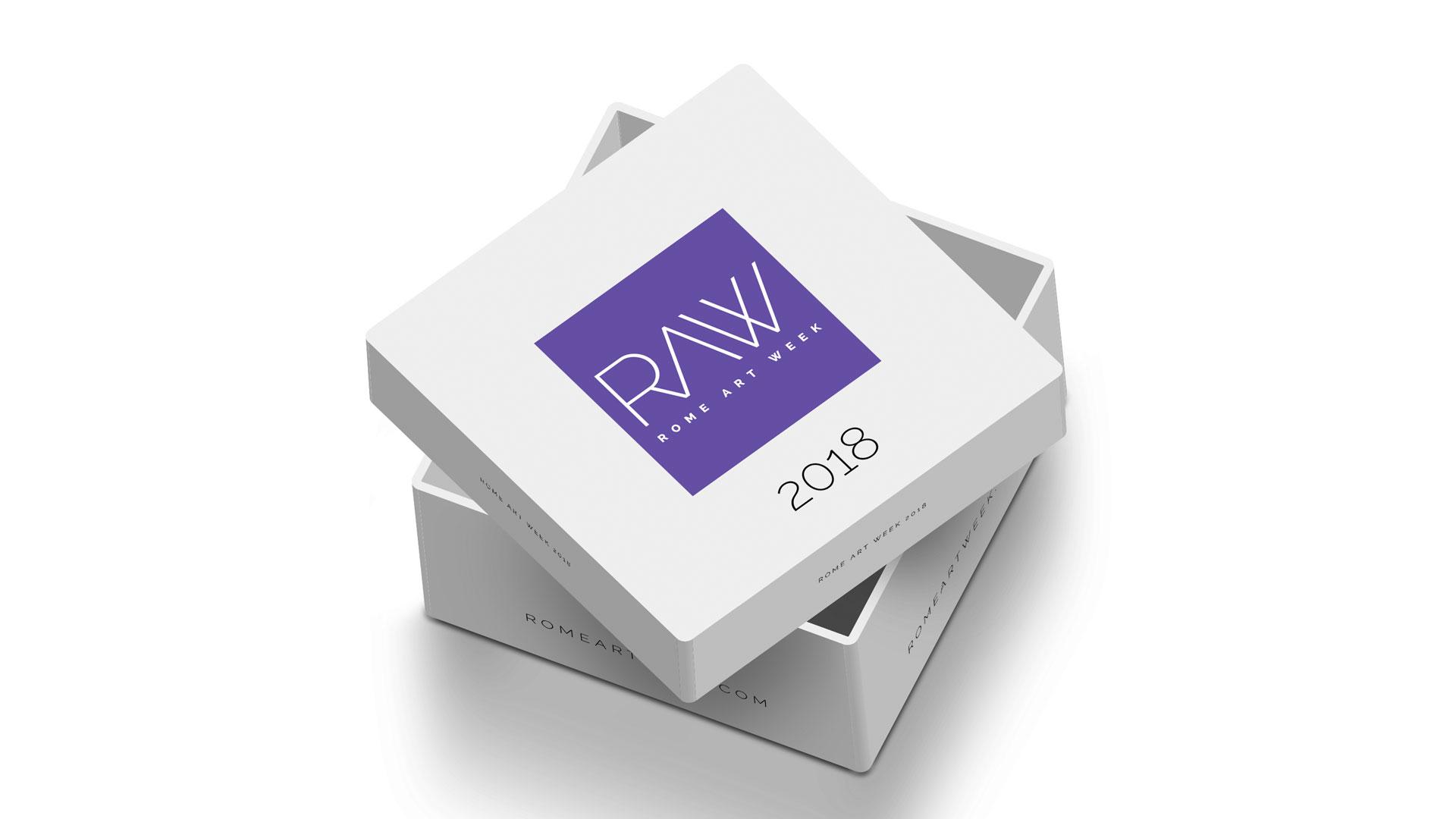 Rome Art Week, box