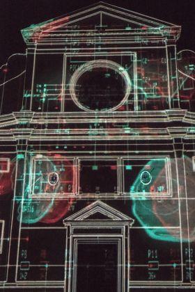 Basilica di Sant'Agostino, videomapping di Soldi Light Festival. Ph. Lucilla Ioiotile