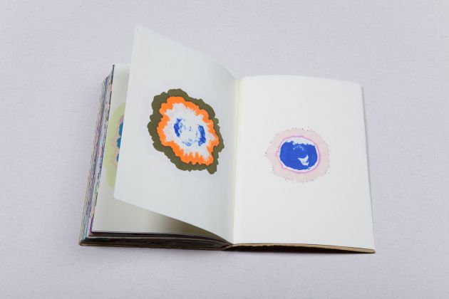 Caterina Morigi, Geode, Venezia, 2015, Detail, Mixed technique, Notebook with leather cover. 1 piece, 288 pages, 248 x 105 mm