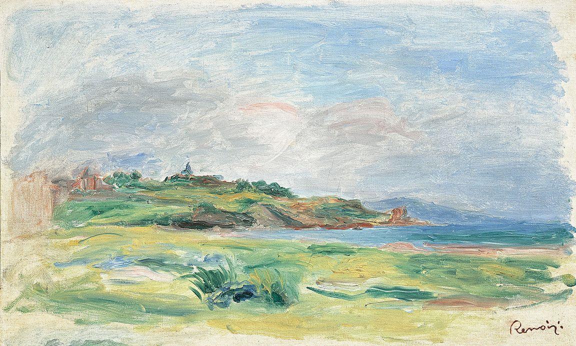 Pierre-Auguste Renoir (1895), Paesaggio © Roberto Gobbo