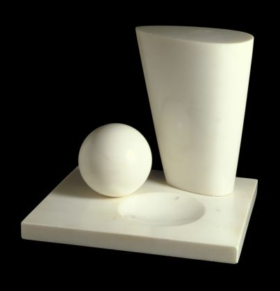 Barbara Hepworth, Conoid, Sphere and Hollow III, 1937, Marble sculpture. © Image; Crown Copyright: UK Government Art Collection