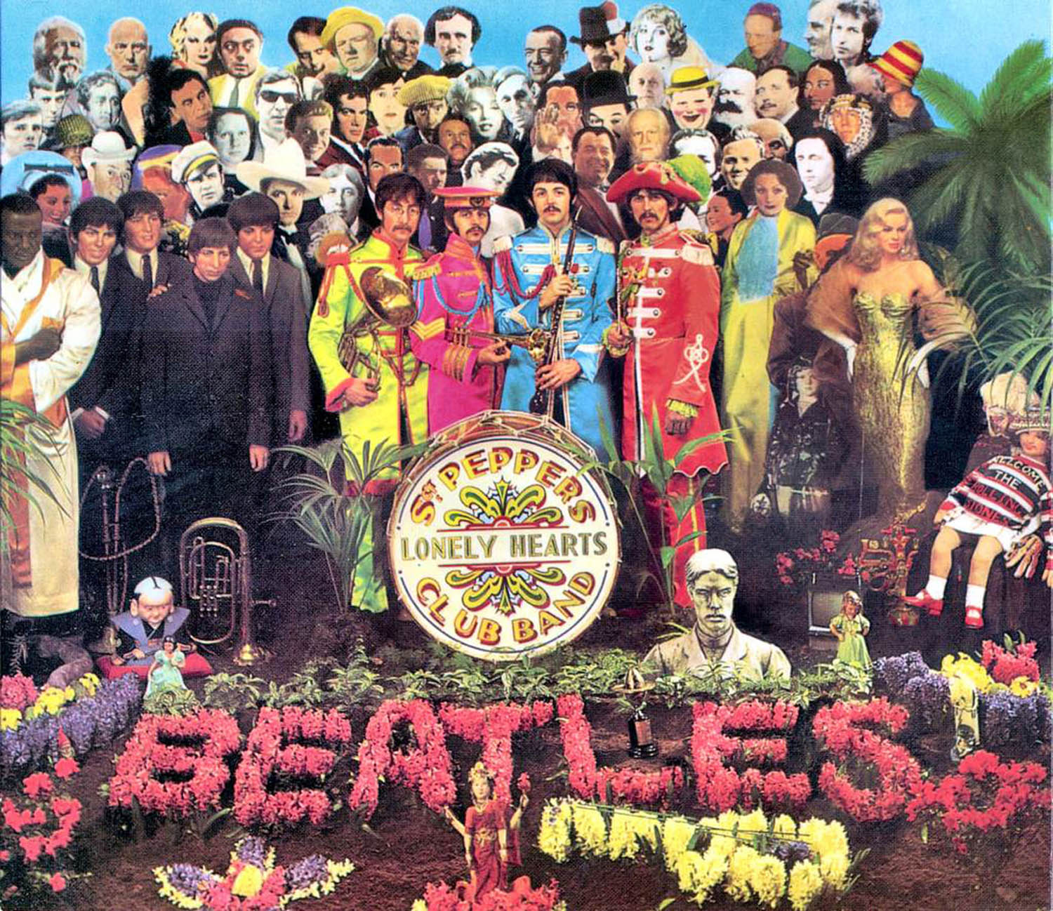 Sgt. Pepper's's Lonely Hearts Club Band (1967), copertina album The Beatles. Courtesy of Zazà ramen noodle bar & restaurant