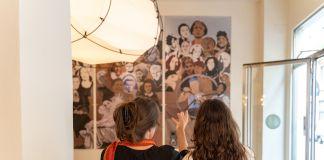 Women's History Mural, Jann Haworth & Liberty Blake. Credit photo Stefano Mascolo. Courtesy of Zazà ramen noodle bar & restaurant