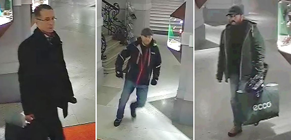 I tre sospettati, Photo APA/LPD Wien