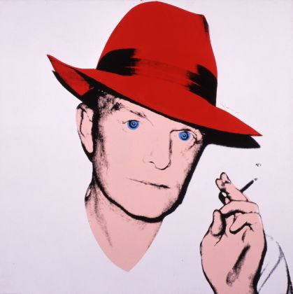 Andy Warhol (1928–1987), Truman Capote, 1979. Acrylic and silkscreen ink on linen, 101.6 × 101.6 cm. The Andy Warhol Museum, Pittsburgh; Founding Collection, contribution Dia Center for the Arts 1997.1.11b © The Andy Warhol Foundation for the Visual Arts, Inc. / Artists Rights Society (ARS) New York