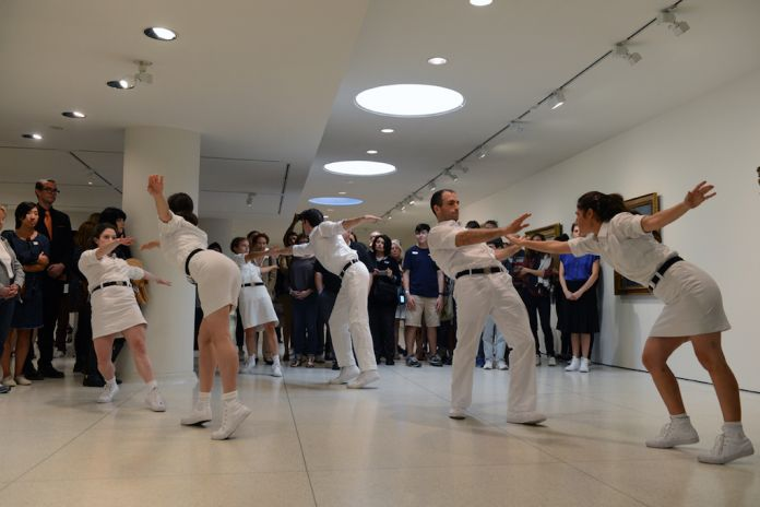 Public Movement, Choreographies of Power Solomon R. Guggenheim Museum, New York, 2016 Photo by: Enid Alvarez, © Solomon R. Guggenheim Foundation