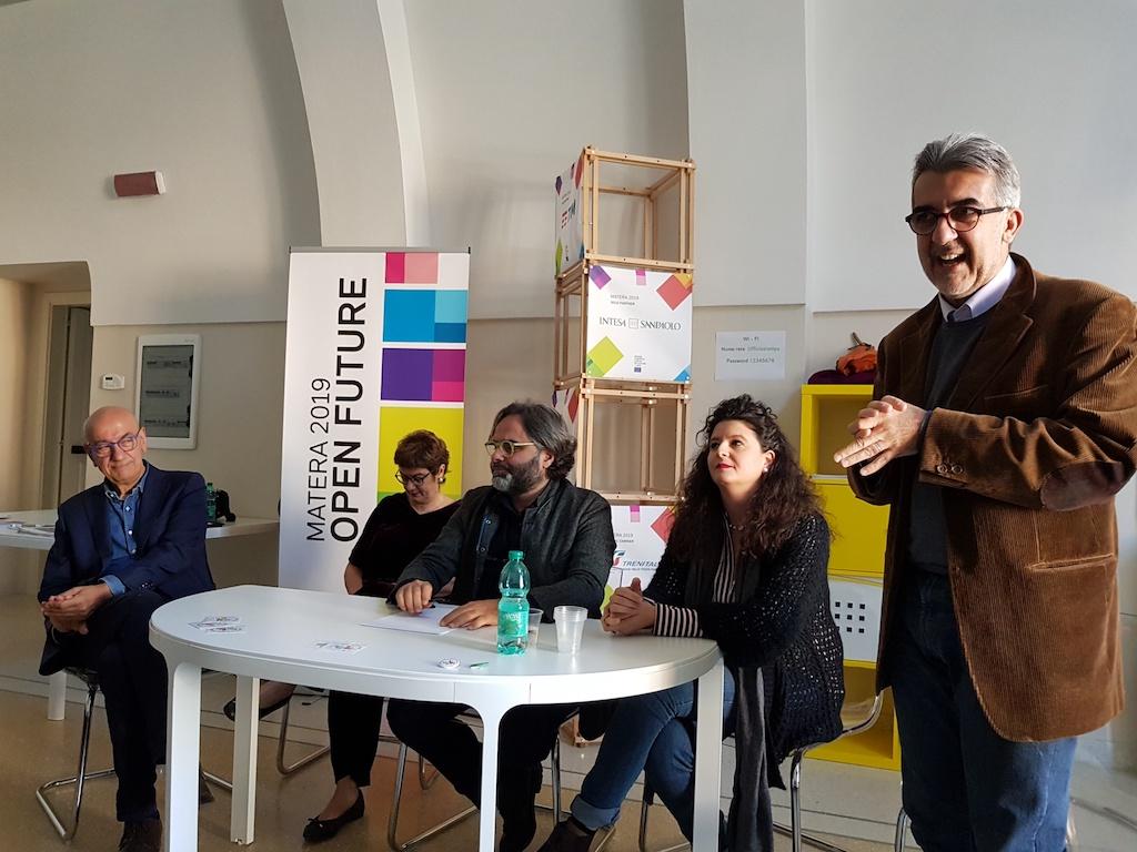 La conferenza stampa di Materalberga