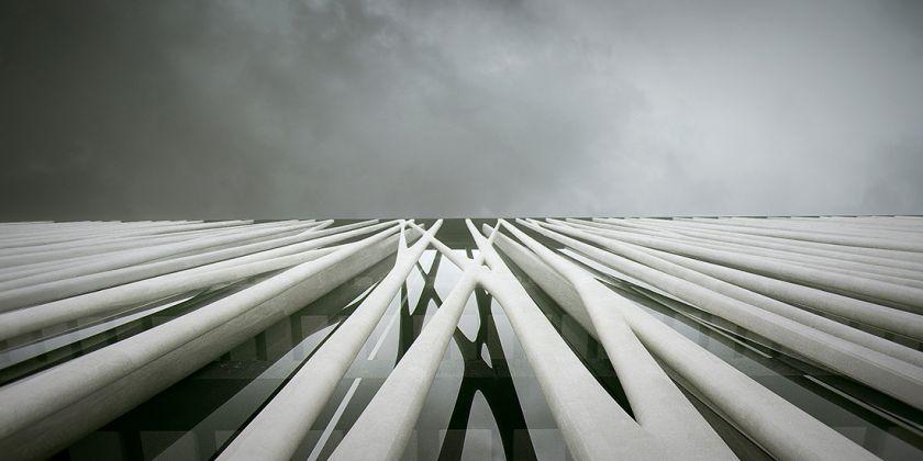Aubervilliers, CHANEL_vue5 © Agence Rudy Ricciotti - – Courtesy AIAC Associazione Italiana di Architettura e Critica