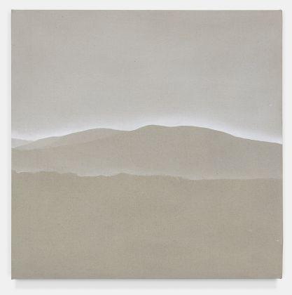 Fuori Registro (Tra il lusco e il brusco 1), 2018, acrilico su tela, cm. 55,5x55,5. Courtsey Totah, NY. Fotografie di Alex Yudzon