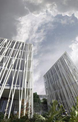 Aubervilliers, CHANEL_ENTREE © Agence Rudy Ricciotti - – Courtesy AIAC Associazione Italiana di Architettura e Critica