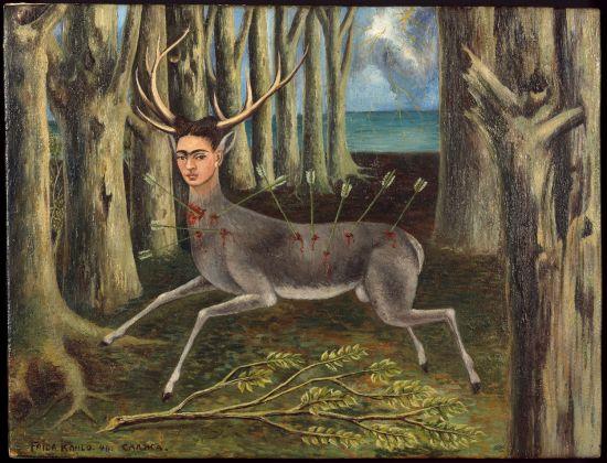 Frida Kahlo, Le Venadita (little deer), 1946, Private Collection. Photo: Nathan Keay, © MCA Chicago
