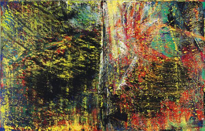 Gerhard Richter, Abstraktes Bild, 1987. Courtesy Sotheby's