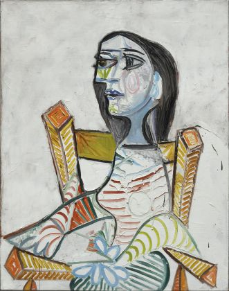 Pablo Picasso, Portrait de femme,1938, Paris, Centre Pompidou – Musée national d'art modern – Centre de creation industrielle © ADAGP, Paris. Photo © Centre Pompidou, MNAM-CCI, Dist. RMN-Grand Palais / Georges Meguerditchian