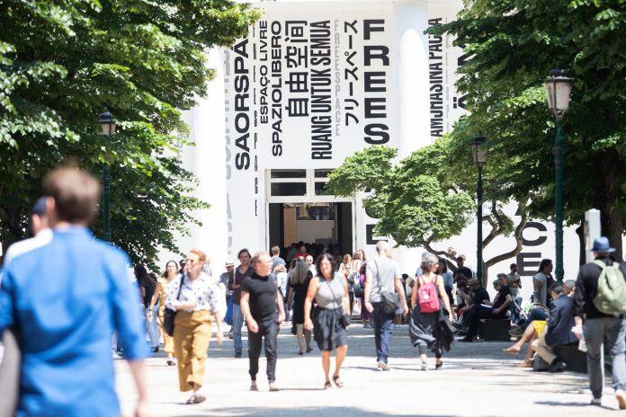 Facade Central Pavilion - Photo by Italo Rondinella - Courtesy of La Biennale di Venezia