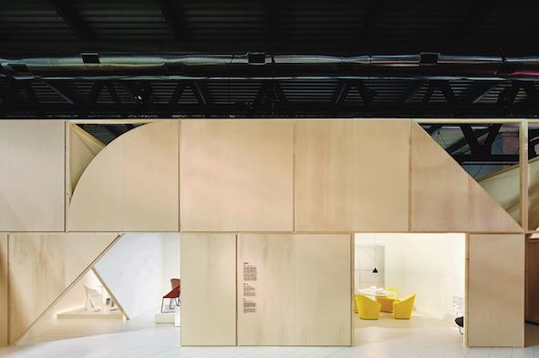 Arper Stand – Salone del Mobile 2017 Arper, MAIO (architecture studio), Jeannette Altherr (Creative Director)