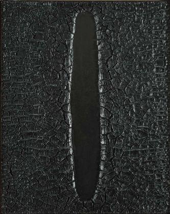 Alberto Burri, Cretto, 1973. Fondazione Palazzo Albizzini Collezione Burri, Città di Castello © by SIAE 2018. Courtesy GAMeC, Bergamo