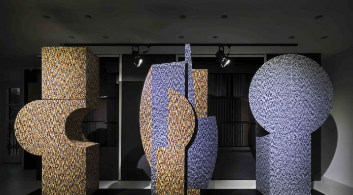 Alessandro Mendini. Tre Primitivi. Installation view at ALPI Showroom, Milano 2018