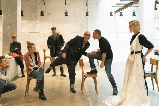 Antonio Marras, Mio cuore io sto soffrendo, cosa posso fare per te?, backstage, photo Daniela Zedda