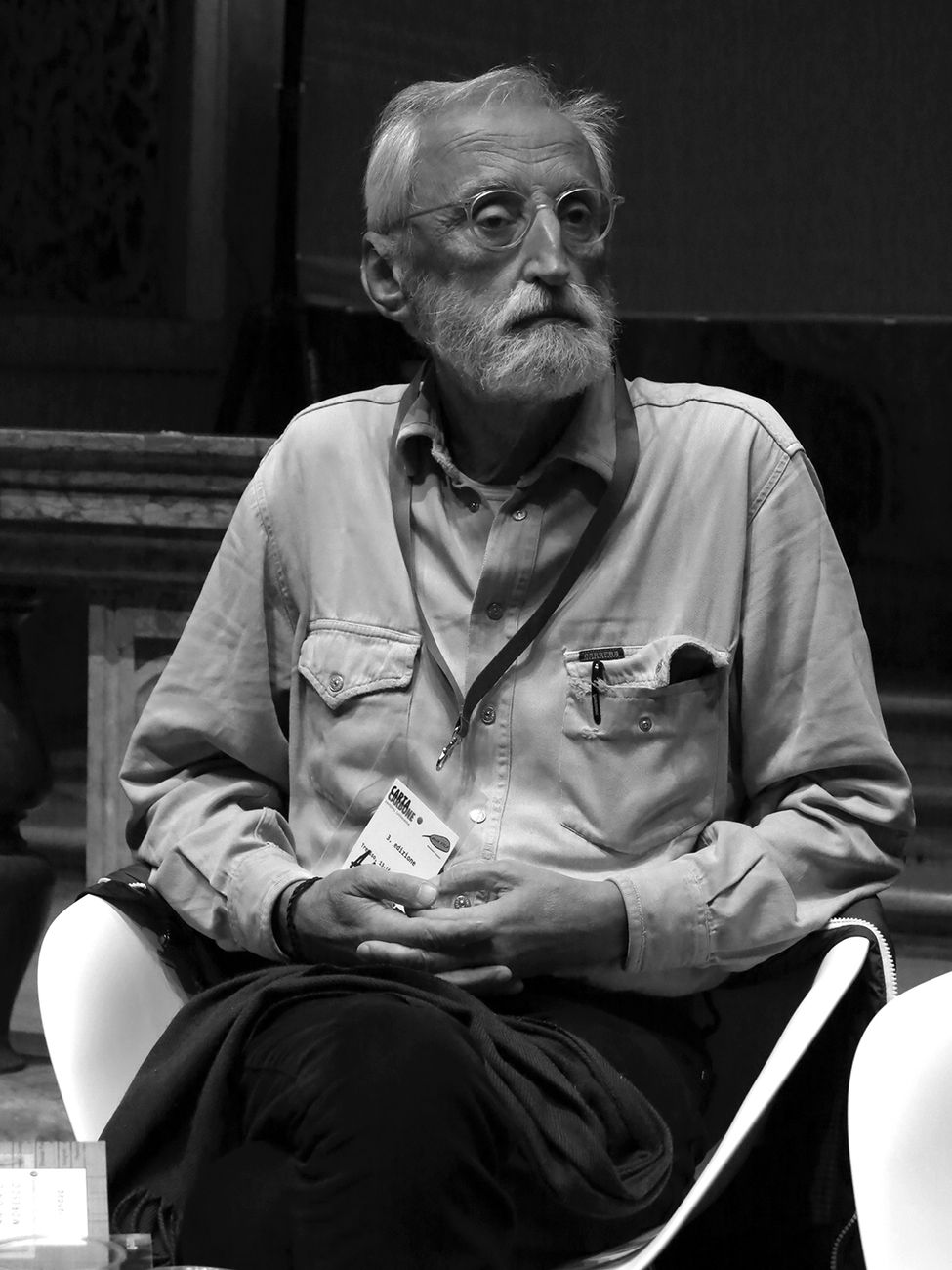 Antonio Moresco. Photo Luigi Tiriticco, 2016 (CC by 2.0 via Flickr)
