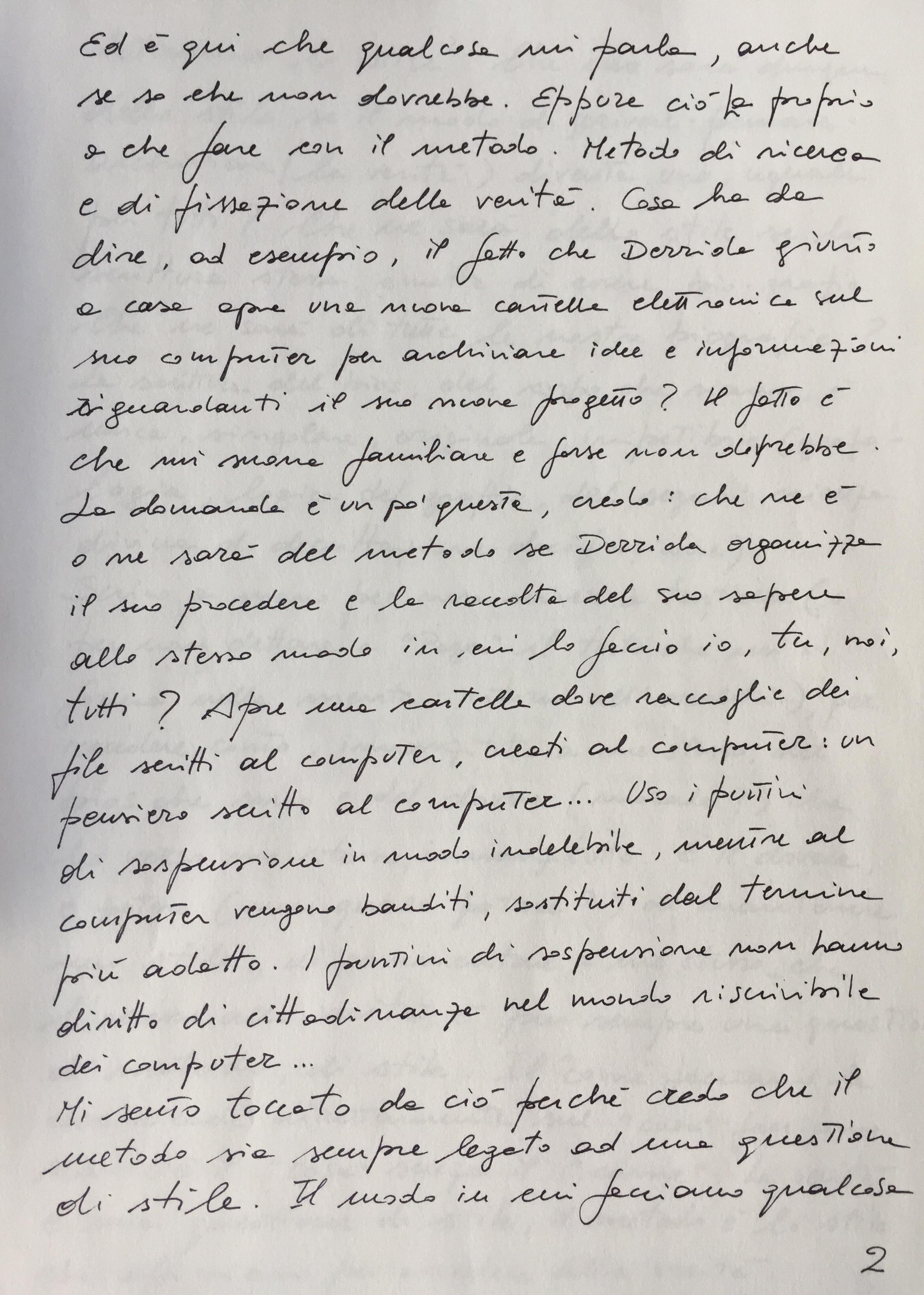 Appunti per una scrittura del bios #2