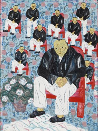 Arpita, Men Sitting, Men Standing, 2004 © Sotheby's