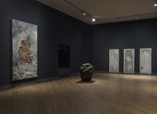 Black Hole. Anselm Kiefer, William Tucker e Luca Monterastelli. Installation view at GAMeC, Bergamo 2018. Photo Antonio Maniscalco. Courtesy GAMeC - Galleria d'Arte Moderna e Contemporanea di Bergamo
