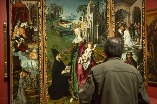 Bartolomé Bermejo. Installation view at Museo Nacional del Prado, Madrid 2018. Photo © courtesy Museo Nacional del Prado