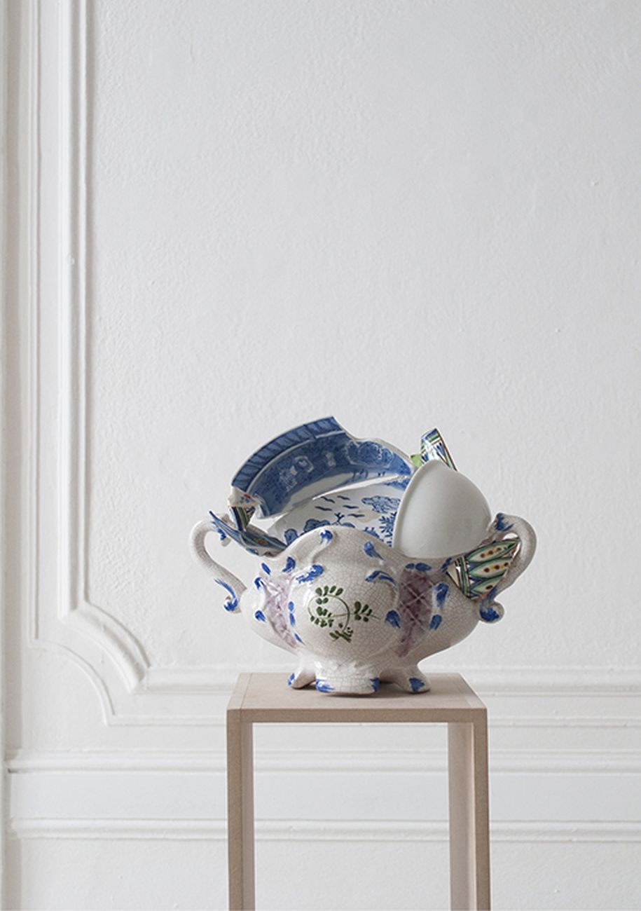 Beatrice Meoni, Salsiera #oggettopittorico, 2017