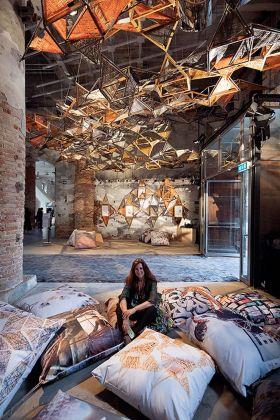 Benedetta Tagliabue, Weaving Architecture. 16. Mostra Internazionale di Architettura, Venezia 2018. Courtesy studio EMBT