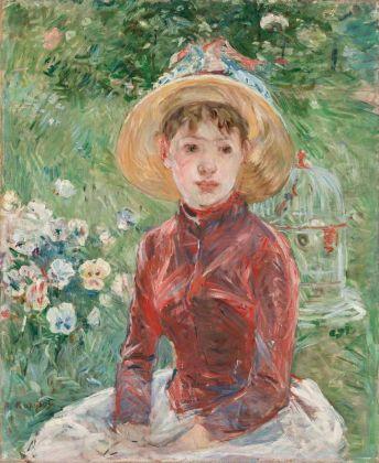 Berthe Morisot, Ragazza sull'erba (Mademoiselle Isabelle Lambert), 1885. Ordrupgaard, Copenhagen © Ordrupgaard, Copenhagen. Photo Anders Sune Berg. Courtesy Palazzo Zabarella