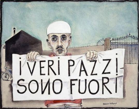 Bruno Caruso, dai ciclo sui matti di Palermo