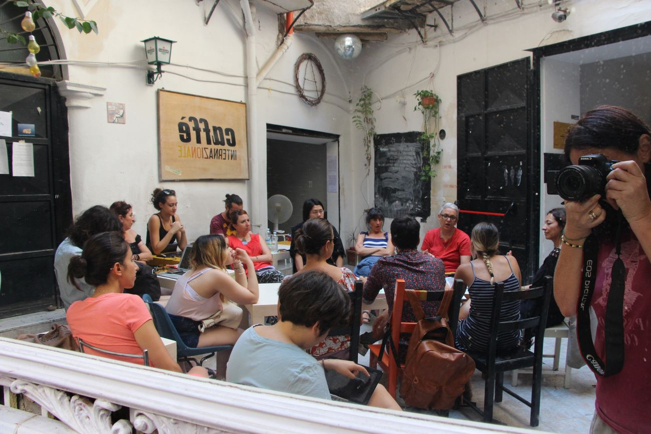 Caffè Internazionale, Palermo. Dora García