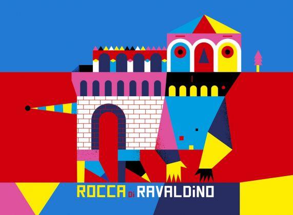 Camilla Falsini, Monumostri, Rocca di Ravaldino, 2018