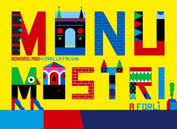 Camilla Falsini, Monumostri, copertina del libro, 2018