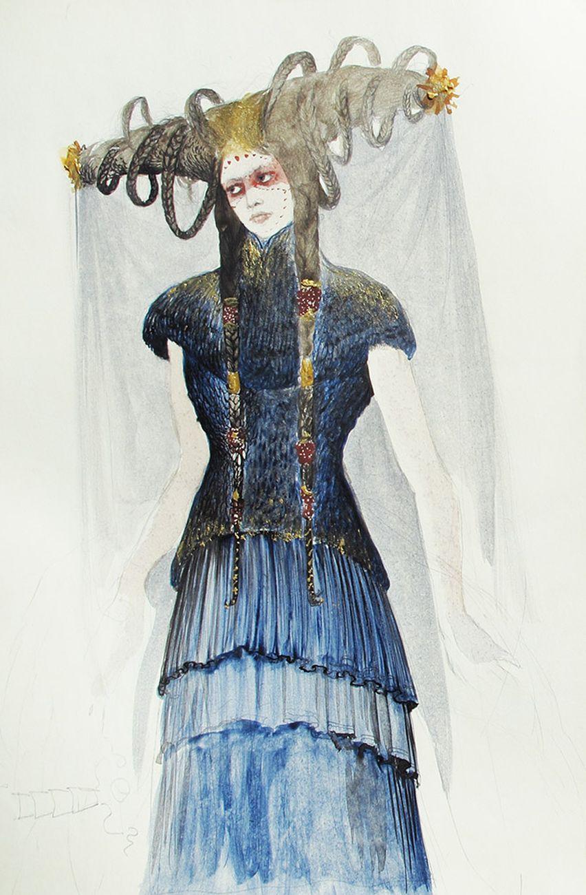 Camille Saint Saëns, Samson et Dalila, regia Jean Louis Grinda. Costumi di Agostino Arrivabene. Opéra di Montecarlo, 2018