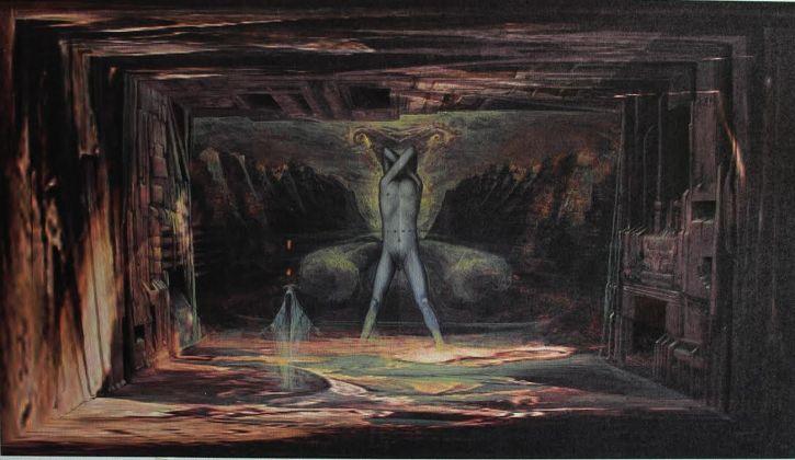 Camille Saint Saëns, Samson et Dalila, regia Jean Louis Grinda. Scenografia di Agostino Arrivabene. Opéra di Montecarlo, 2018