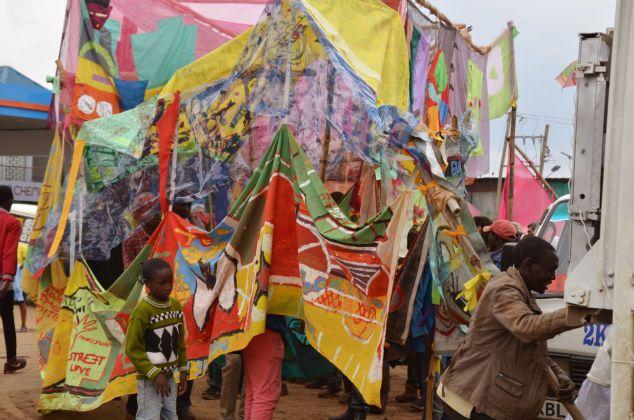 Carnival! Nairobi. La parata, Nairobi 2018. Photo Francesca Casassa Vigna. Courtesy Cherimus