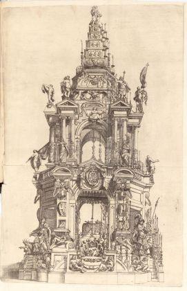 Catafalco per Ranuccio I Farnese nel Duomo di Parma. Courtesy Fondazione Cariparma