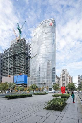 Chinatrust Tower, Taighung, Taiwan. In costruzione. Photo Yu Chen Tsao. Courtesy studio EMBT